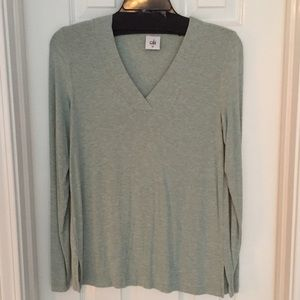 CAbi v-neck Turquoise top